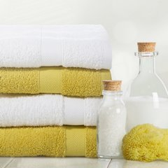Miękki chłonny ręcznik kąpielowy stalowy 50x90 - 50 X 90 cm - stalowy 10