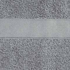 Miękki chłonny ręcznik kąpielowy stalowy 50x90 - 50 X 90 cm - stalowy 4