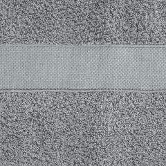 Miękki chłonny ręcznik kąpielowy stalowy 70x140 - 70 X 140 cm - stalowy 7