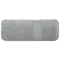 Miękki chłonny ręcznik kąpielowy stalowy 70x140 - 70 X 140 cm - stalowy 2