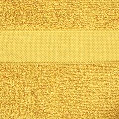 Miękki chłonny ręcznik kąpielowy musztardowy 70x140 - 70 X 140 cm - musztardowy 3