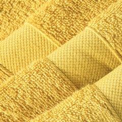 Miękki chłonny ręcznik kąpielowy musztardowy 70x140 - 70 X 140 cm - musztardowy 4