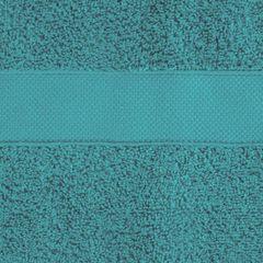 Miękki chłonny ręcznik kąpielowy turkusowy 50x90 - 50 X 90 cm - turkusowy 8