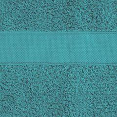 Miękki chłonny ręcznik kąpielowy turkusowy 50x90 - 50 X 90 cm - turkusowy 4