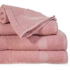 Miękki chłonny ręcznik kąpielowy liliowy 50x90 - 50 X 90 cm - liliowy 1