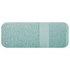 Miękki chłonny ręcznik kąpielowy miętowy 50x90 - 50 X 90 cm - miętowy 2