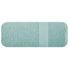 Bawełniany ręcznik kąpielowy miętowy 70x140cm - 70x140 - miętowy 2