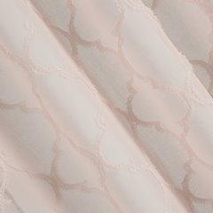 Firana gotowa z marokańską koniczyną 140x250  - 140 X 250 cm - różowy 3