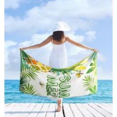 Ręcznik plażowy z mikrofibry z kolorowym nadrukiem 80x160cm - 80 X 160 cm - wielokolorowy 3