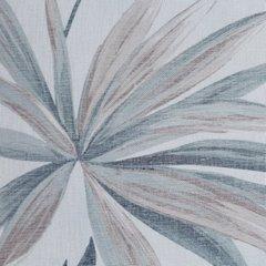 Zasłona w liście palmowe nancy na przelotkach 140x250 - 140 X 250 cm - szary/brązowy 4