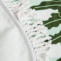 Okrągły ręcznik plażowy z mikrofibry z frędzlami o średnicy 150 cm - ∅ 150 cm - wielokolorowy 5