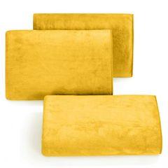 Ręcznik z mikrofibry szybkoschnący musztardowy 70x140cm  - 70 X 140 cm - musztardowy 1