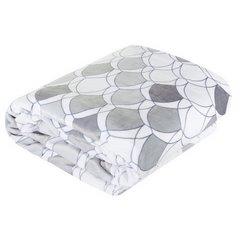 Kloe mięciutki koc z mikroflano srebrny 200x220 Design 91 - 200 x 220 cm - srebrny 3