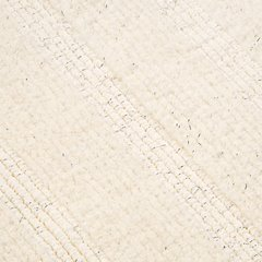 Łazienkowy dywanik w paski splot pętelkowy krem 50x70 cm - 50 X 70 cm - kremowy 6