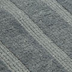 Łazienkowy dywanik w paski splot pętelkowy grafit 50x70 cm - 50 X 70 cm - granatowy 3