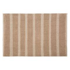 Łazienkowy dywanik w paski splot pętelkowy beż 60x90 cm - 60 X 90 cm - beżowy 2