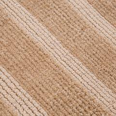 Łazienkowy dywanik w paski splot pętelkowy beż 60x90 cm - 60 X 90 cm - beżowy 3