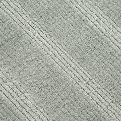 Łazienkowy dywanik w paski splot pętelkowy srebrny 60x90 cm - 60 X 90 cm - popielaty 6