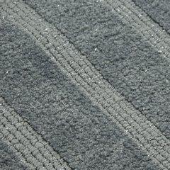 Łazienkowy dywanik w paski splot pętelkowy beż 60x90 cm - 60 X 90 cm - granatowy 3