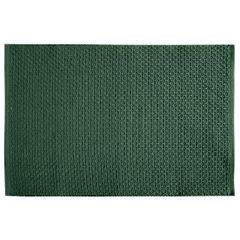 Jednokolorowa podkładka stołowa plaster miodu zielona 33x48 cm - 33 X 48 cm - ciemnozielony 1