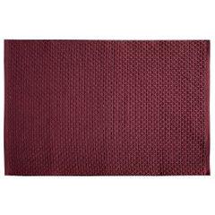 Jednokolorowa podkładka stołowa plaster miodu bordowa 33x48 cm - 33 X 48 cm - bordowy 1