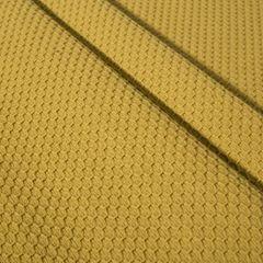 Musztardowy bieżnik na stół bawełniany 40x140 cm - 40 X 140 cm - musztardowy 4