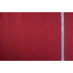 Czerwona nakładka na stół do jadalni 30x50 cm - 30 X 50 cm - czerwony 1
