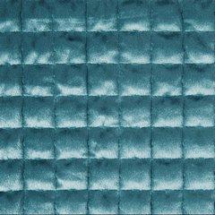 Welwetowa narzuta pikowana niebieska 170x210cm - 170 X 210 cm - morski 3