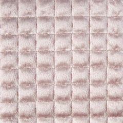 Welwetowa narzuta pikowana pudrowy róż 170x210 cm - 170 X 210 cm - pudrowy 3