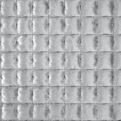 Welwetowa narzuta pikowana srebrna 170x210 cm - 170 X 210 cm - srebrnoszary 3