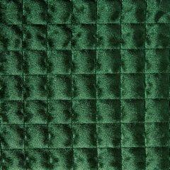 Welwetowa narzuta pikowana ciemno zielona 170x210 cm - 170 X 210 cm - c.zielony 3