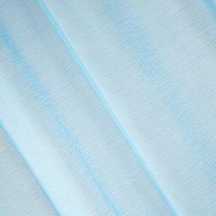 Zasłona niebieska struktura deszczyku przelotki 140x250 cm - 140 X 250 cm - niebieski 2