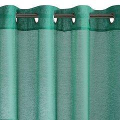 Zasłona SZMARAGDOWA struktura deszczyku przelotki 140x250 cm - 140x250 - Zielony 2