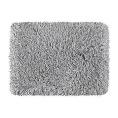 Ozdobny dywanik z błyszcząca nicią stalowy szary 60x90 cm - 60 X 90 cm - szary 2