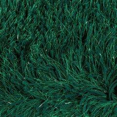Ozdobny dywanik z błyszcząca nicią zielony 50x70 cm - 50 X 70 cm - ciemnozielony 4
