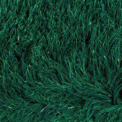 CELIA ZIELONA DYWAN ŁAZIENKOWY SHAGGY ZE SREBRNĄ NICĄ 60x90 cm - 60 X 90 cm - ciemno zielony 3