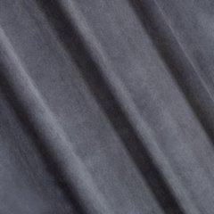 Zasłona jednokolorowa o strukturze welwetu 140x250 - 140x250 - STALOWY 1
