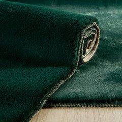 Gładki dywanik łazienkowy zielone futerko 50x70 cm - 50 x 70 cm - Zielony 2