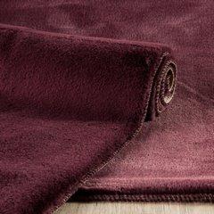 Gładki dywanik łazienkowy bordowe futerko 50x70 cm - 50 x 70 cm - Bordowy 2