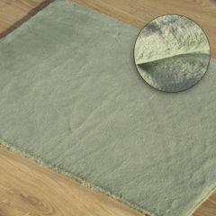 Gładki dywanik łazienkowy miętowe futerko 50x70 cm - 50 x 70 cm - Miętowy 1