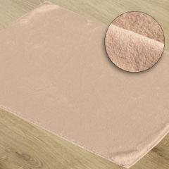 Gładki dywanik łazienkowy różowe futerko 60x90 cm - 60 x 90 cm - c.różowy 1