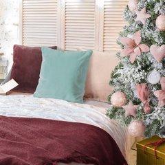 Różowa POSZEWKA OZDOBNA z krótkiego futerka 45x45cm - 45x45 - Różowy 3