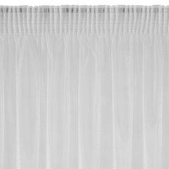 Zasłona zwiewna biała taśma 135x270 cm - 135 X 270 cm - biały 4