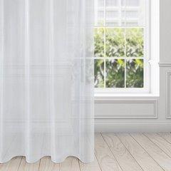 Zasłona zwiewna biała przelotki 135x250 cm - 140 X 250 cm - biały 1