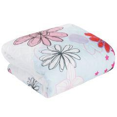 SWEET narzuta na łóżko młodzieżowa od Design91 200x220 cm - 200x220 - Biały / Niebieski / Różowy 4