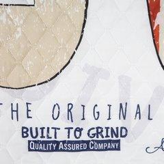 Oryginalna pikowana narzuta z młodzieżową grafiką 170x210 cm - 170 X 210 cm - biały/mix kolorów 7