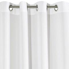 ADORE GŁADKA MATOWA ZASŁONA NA PRZELOTKACH  - BIAŁY 140x250cm Design91 - 140 X 250 cm - biały 6