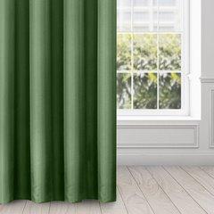 Zasłona gładka CIEMNOZIELONA przelotki 140x250 cm - 140x250 - Zielony 3