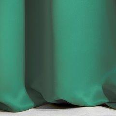 Ciemnozielona zasłona zaciemniająca 135x270 na taśmie - 135x270 - zielony 10