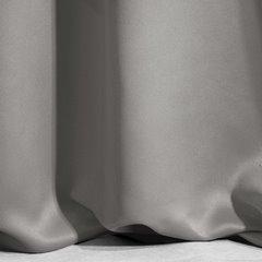 Srebrna szara zasłona zaciemniająca 135x270 na taśmie - 135x270 - grafitowy 9